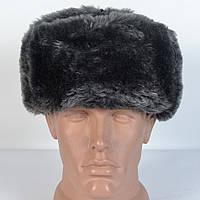 Зимняя мужская военная шапка из искусственного меха