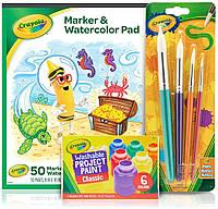 Набір дитячих фарб Crayola, приладдя для рукоділля (B07Z9QTB66)