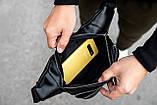 Поясна сумка бананка шкіряна KK-2005, фото 7