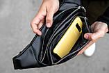 Поясна сумка бананка шкіряна KK-2005, фото 8
