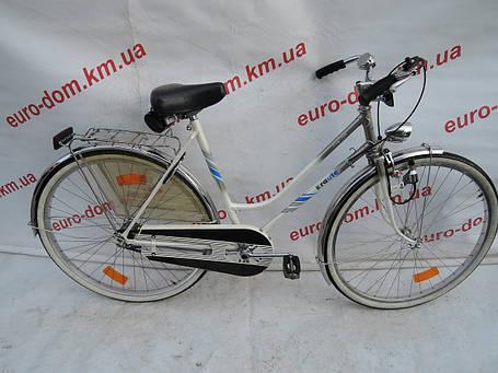 Городской велосипед Krauter 28 колеса 3 скорости на планетарке, фото 2