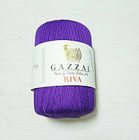 """Нитки """"GAZZAL  RIVA"""" Турция, цвет - Фиолетовый"""