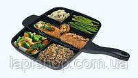 Сковорода универсальная Magic Pan на 5 отделений, фото 4