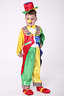 Детский карнавальный костюм для мальчика Клоун №1, фото 1