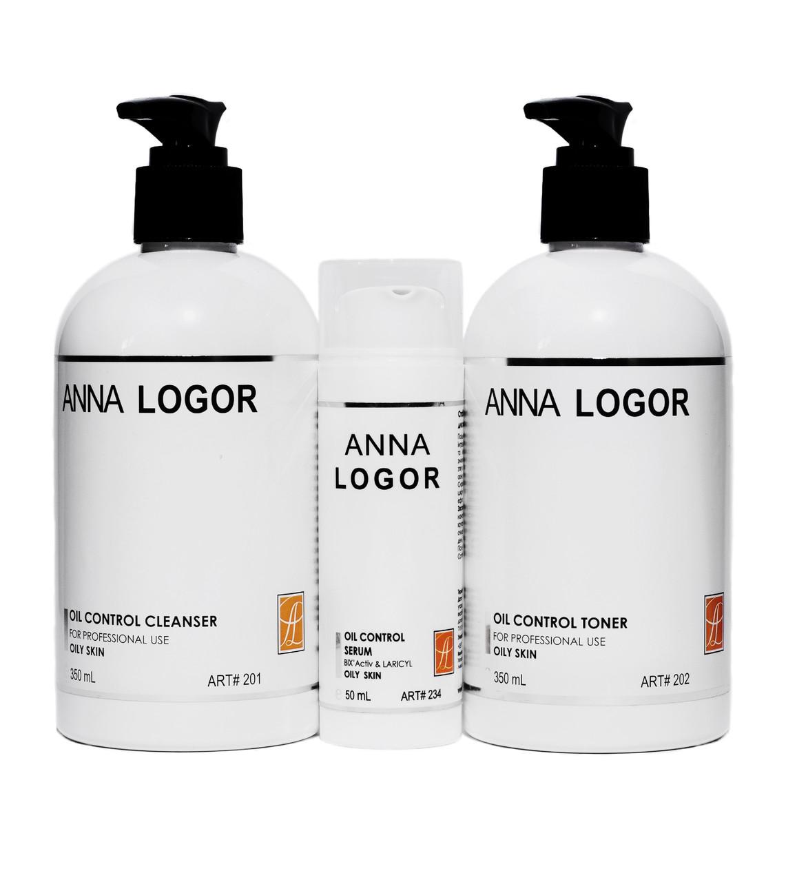 Набір косметики Anna LOGOR Серія для жирної шкіри Art.201 234