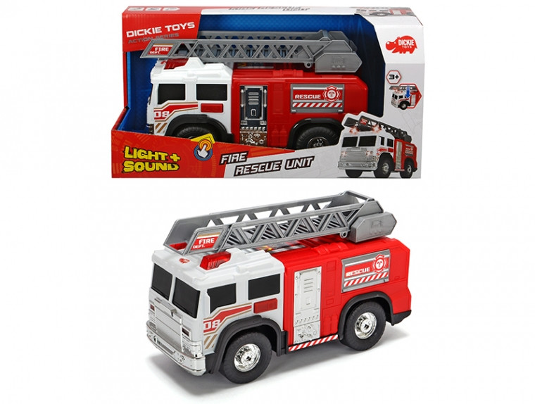 """Функциональная машина """"Пожарная безопасность"""" со звук. и свет. эффектами 30 см Dickie Toys 3306005"""