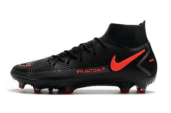 Бутсы Nike Phantom GT Elite DF FG black/orange