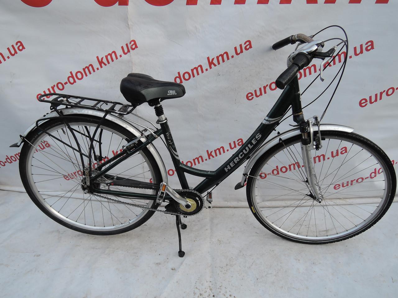 Городской велосипед Hercules 28 колеса 7 скоростей на планитарке