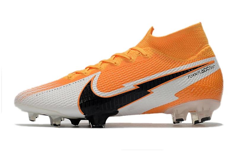 Бутсы Nike Mercurial Superfly VII Elite FG yellow