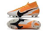 Бутсы Nike Mercurial Superfly VII Elite FG yellow, фото 5