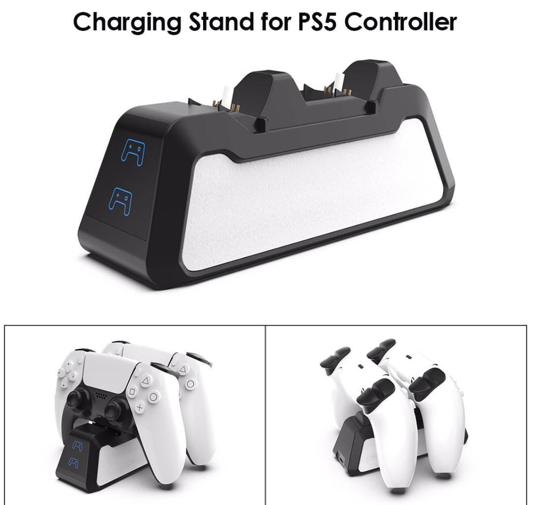 Зарядное устройство док-станция ALLOYSEED для DualSense PS5