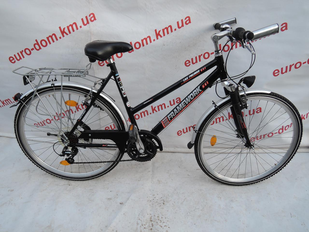 Городской велосипед Framework 28 колеса 21 скорость