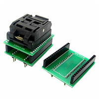 TQFP32 QFP32 LQFP32 - DIP28 DIP32 переходник панелька, 100797