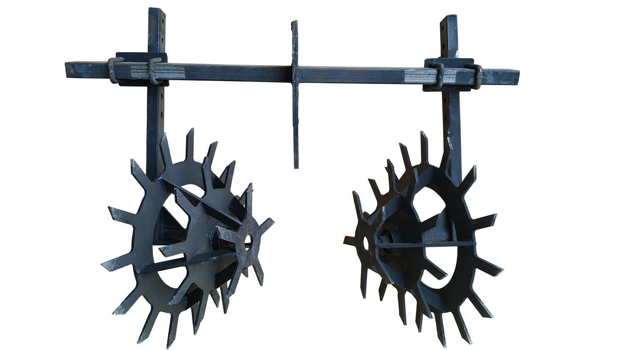 Культиватор Їжачок на підшипниках Буковинка на подвійний зчепленні (цельнорезаный нерозбірний)