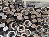Гайка шестигранная нержавеющая М16 DIN 934, сталь А2-70, фото 1