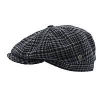 Мужская кепка Bugatti Серый 56