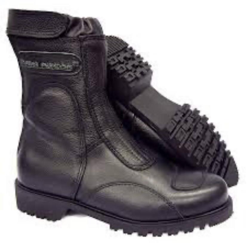 Biker Paradise Mens Viking Warrior Leather Ankle Boot мотоботинки с защитой