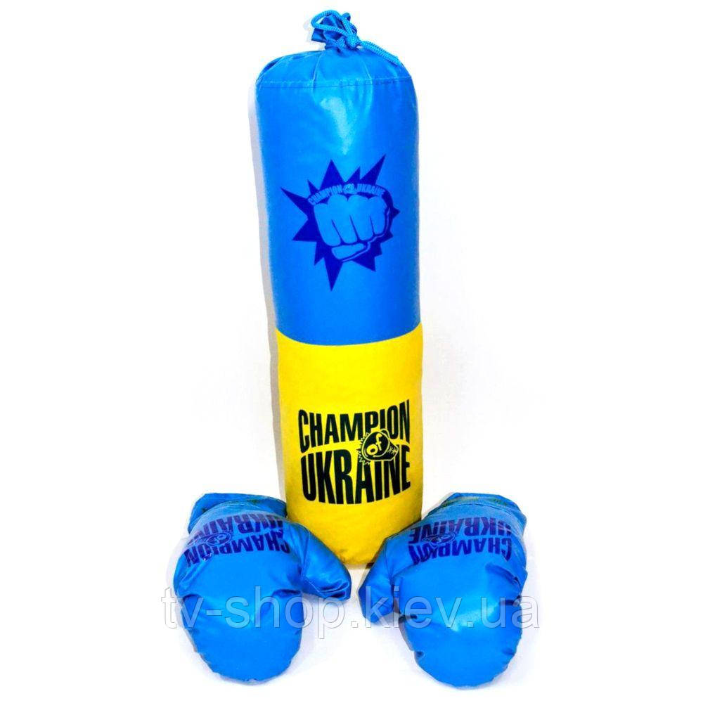 Детский бокс  Украина ,50х21 см