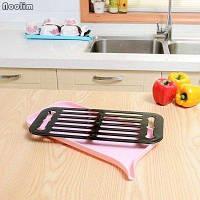 🔥✅  Сушилка посудная со сливным носиком, Розовый SKL32-152834