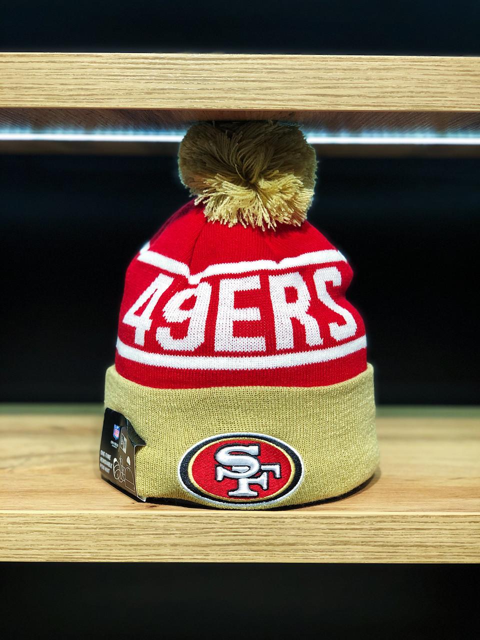 Шапка зимняя San Francisco 49ers / SPK-1081
