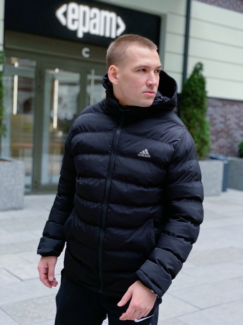 Куртка зимняя Adidas / CLO-189 (Размер:S,XL)