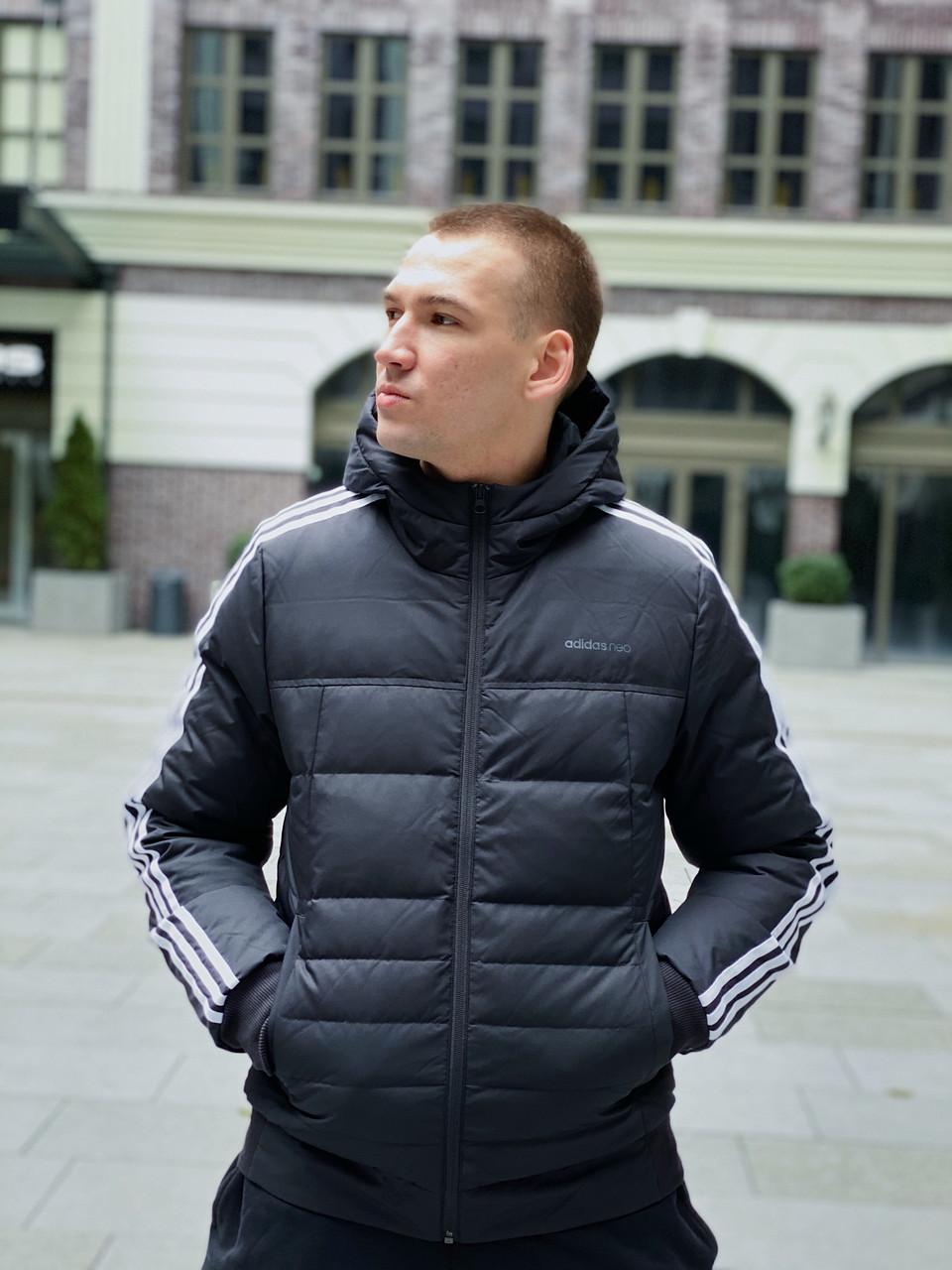 Пуховик мужской Adidas / CLO-187 (Размер:S,XL,2XL)