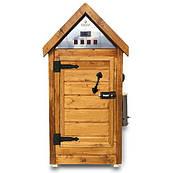 Деревянная коптильня холодного и горячего копчения, вяления и сушки Drevos Мини 2.0 (до 10 кг)