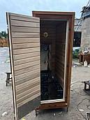 Деревянная коптильня холодного и горячего копчения с функцией сушки и вяления Drevos Макс на 100 кг