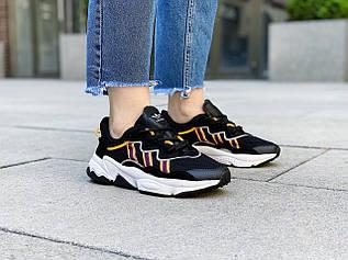 """Кроссовки женские Adidas Ozweego """"Black/Orange"""" / EH3219 (Размеры:36,38,39)"""