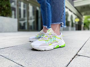 "Кроссовки женские Adidas Ozweego ""White"" / EH0972 (Размеры:37,38)"