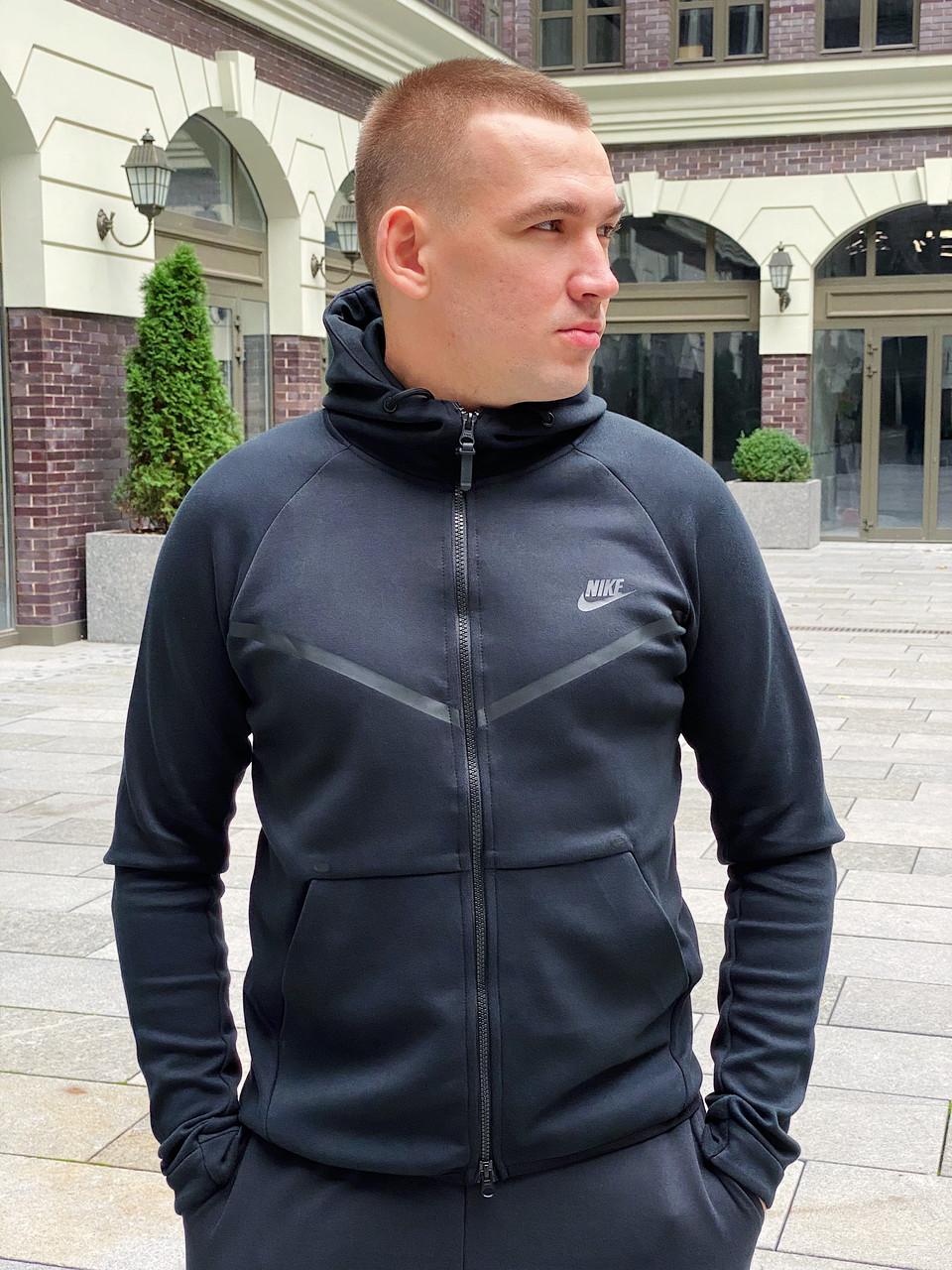 Толстовка мужская Nike Tech Fleece / CLO-116 (Размеры:L,XL,2XL)
