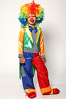 Детский карнавальный костюм для мальчика Клоун №4/1, фото 1