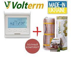 Мат нагрівальний для монтажу в плиточний клей Volterm Сlassic Mat 1400, 9.7 м²