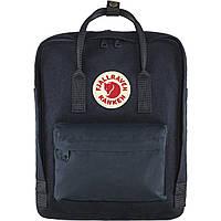 Рюкзак городской Fjallraven Kanken Re-Wool Night Sky, Оригинальный рюкзак Kanken 16 л, Фьялравен Канкен