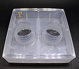 Кормушка квадратная с двумя стаканами 1.6л, фото 3