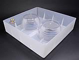 Кормушка квадратная с двумя стаканами 1.6л, фото 4