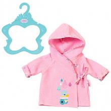 Халат для ляльки 43 см Baby Born Zapf Creation 824665