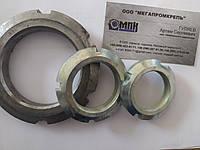 Гайка шлицевая круглая для стяжных и закрепительных втулок ГОСТ 8530-90, фото 1