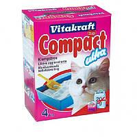 Наполнитель для кошек Vitakraft Compact 4 кг