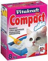 Наполнитель для кошачьего туалета Vitakraft Compact 8 кг