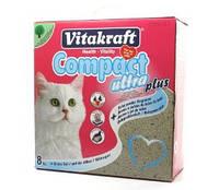 Наполнитель для кошачьего туалета Vitakraft Compact Ultra Plus  8 кг