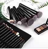 Набор кистей для макияжа 18 шт Zoreya Classic, фото 6