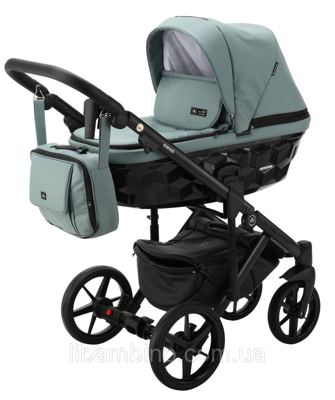 Дитяча універсальна коляска 2 в 1 Adamex Diego SA-20