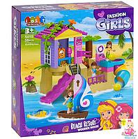 Детский конструктор для девочек JDLT 5415 на 58 деталей