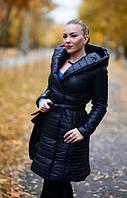 Женское стеганое пальто на синтепоне в расцветках 08164
