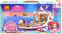 """Детский конструктор для девочек LELE """"Королевский корабль Ариэль"""" 37062 на 382 деталей"""