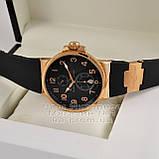 Ulysse Nardin Maxi Marine Chronometer 266-66-3/62 копия arabic numerals Black Gold механика Улис Нардин, фото 3
