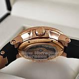 Ulysse Nardin Maxi Marine Chronometer 266-66-3/62 копия arabic numerals Black Gold механика Улис Нардин, фото 5
