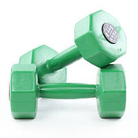 Гантели пластиковые для фитнеса InterAtletika ST560.3 3 кг