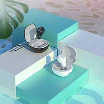 Bluetooth гарнитура Hoco E50 Wise mini wireless headset (с зарядным кейсом) Black, фото 2